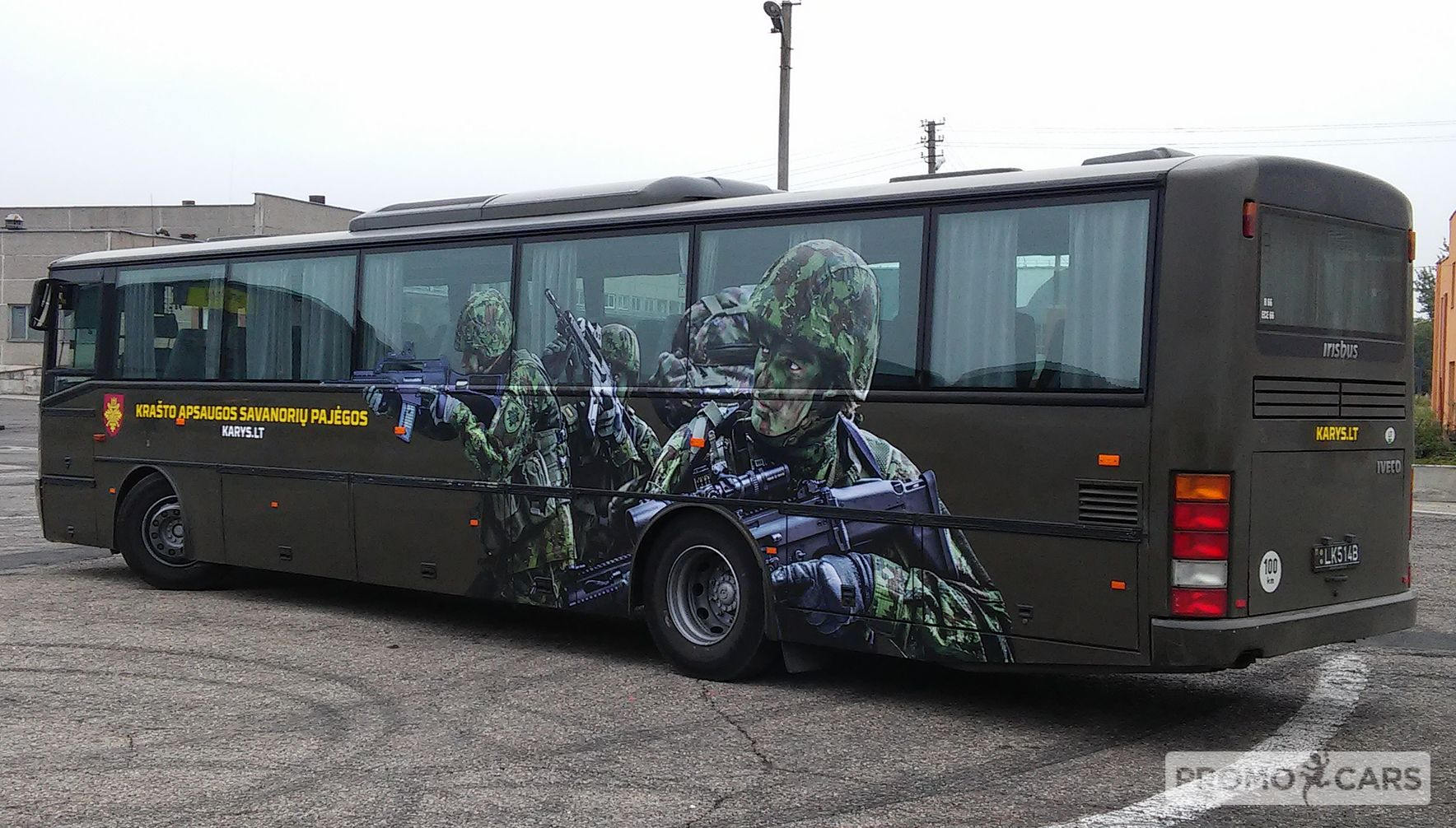 autobuso apklijavimas reklama